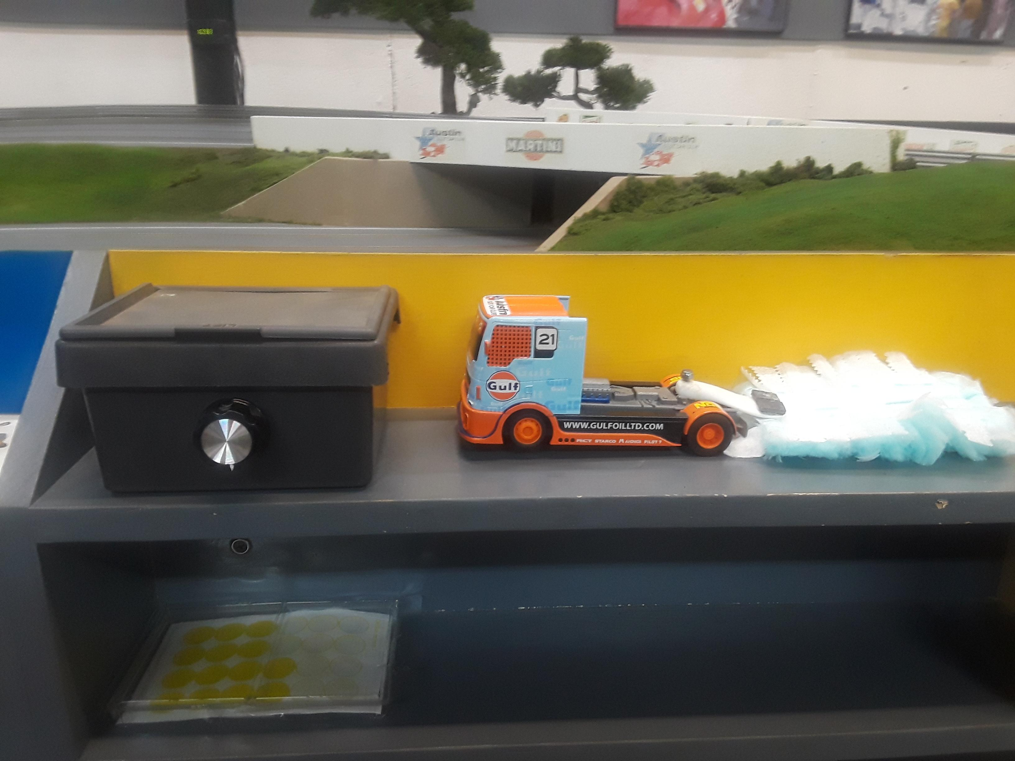 NEW SWEEPER TRUCK CONTROLLER